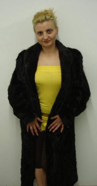 Sectional Mink Fur Coat 1