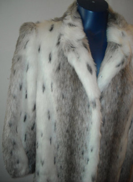 Faux Fur Designer Long Coat 6