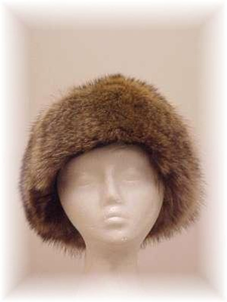 Full Skin Raccoon Fur Hat