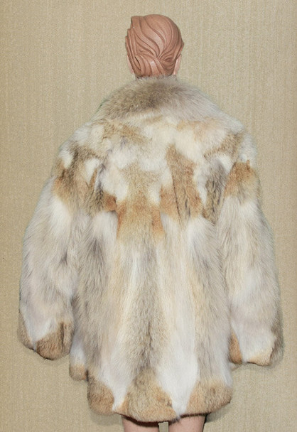 Coyote Design Fur Jacket