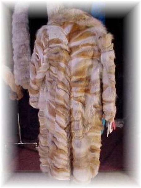 Full Length Coyote Fur Coat
