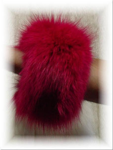 Buy Dyed Full Skin Fox Fur Cuffs