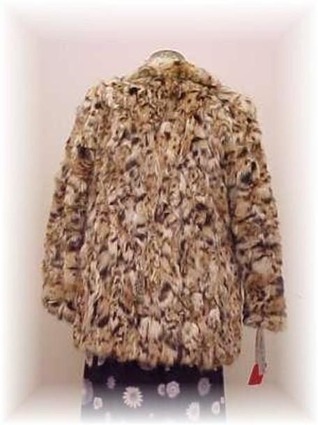 Lynx Sectional Fur Jacket