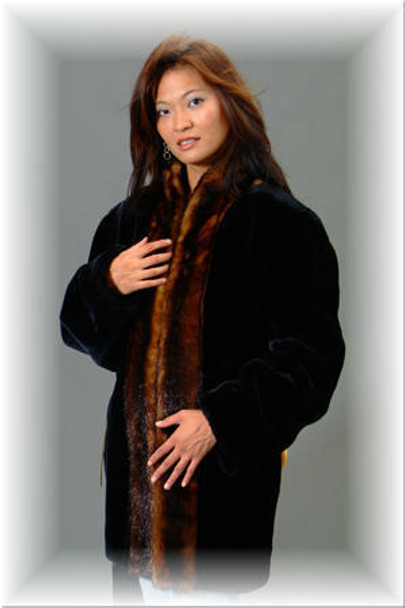 179fe96cd648 Faux Fur Mink Tuxedo Jacket - furoutlet - fur coat, fur jackets, fur ...