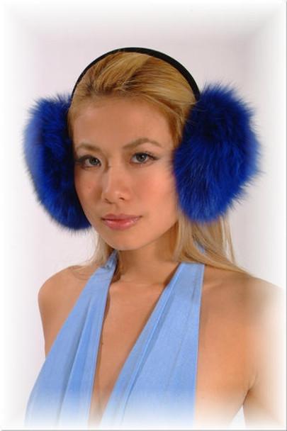 Blue Fox Earmuffs