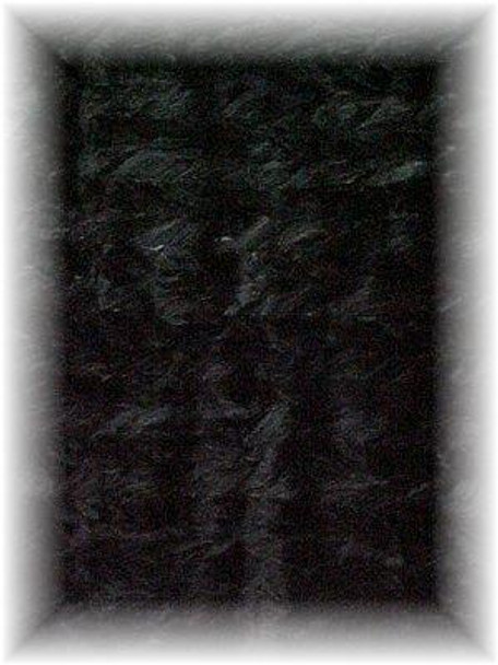 Sheared Dyed Black Mink Fur Blanket