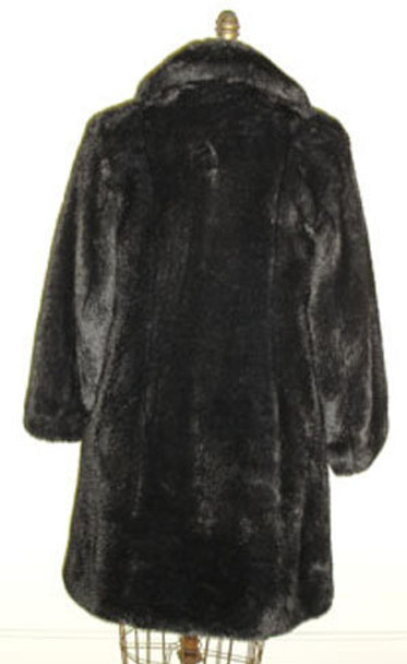 Black Ranch Mink Faux Fur