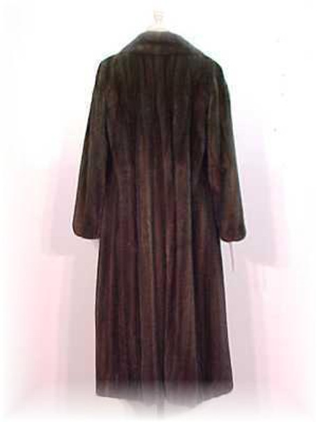 Mahogany Mink Fur Coat 2