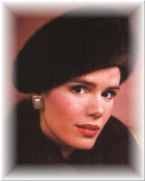 Mink Profile Beret Fur Hat