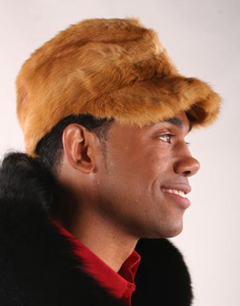 Fullskin Golden Mink Fur Hat