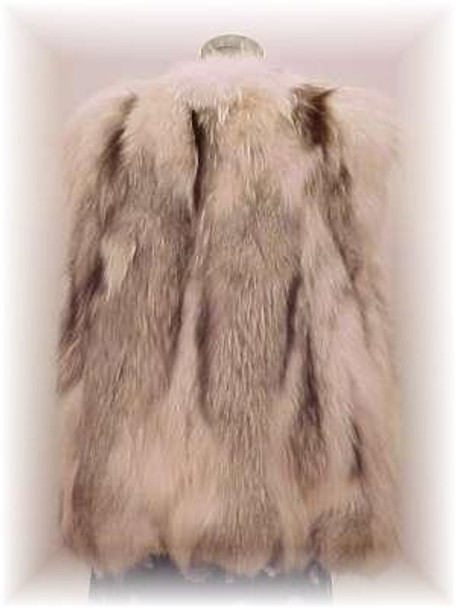Fox Design Fur Vest