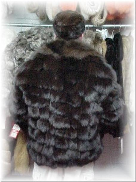 Fox Fur Bomber Jacket 4