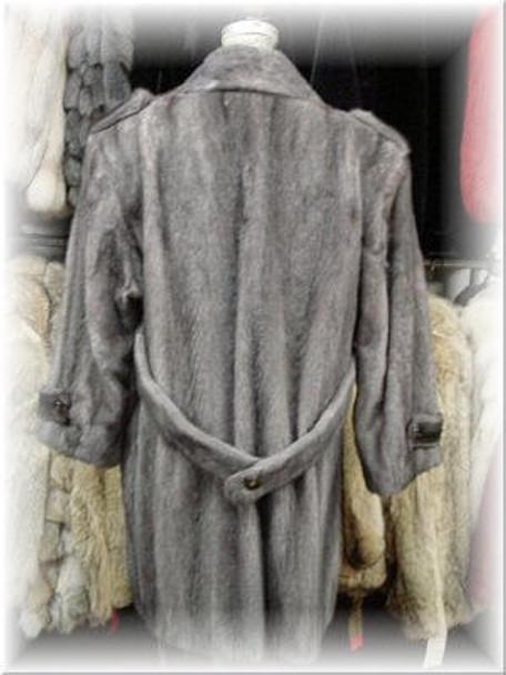 Full Skin Azurine Mink 3/4 Fur Jacket