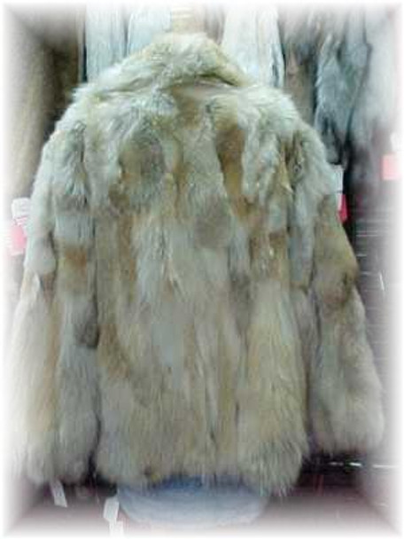 Sectional Coyote Fur Jacket 3