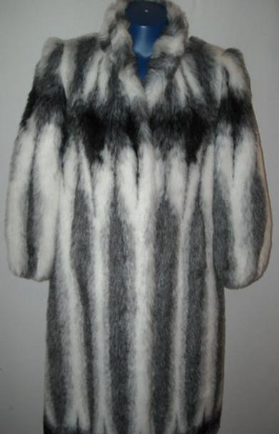 Faux Fur Designer Long Coat 5