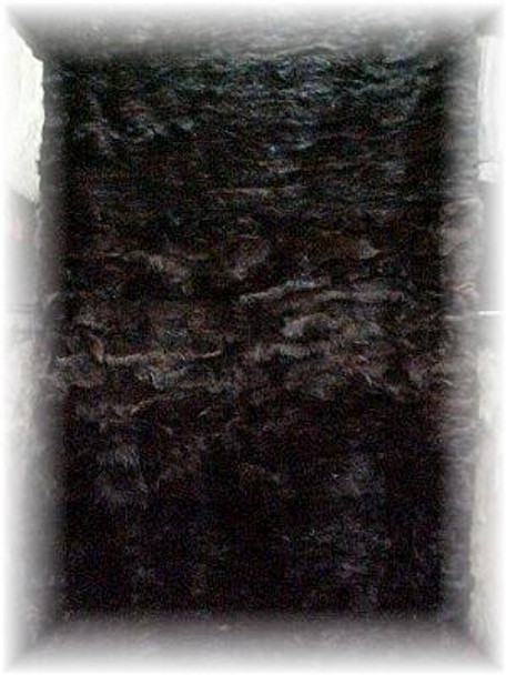 Sectional Sable Fur Blanket