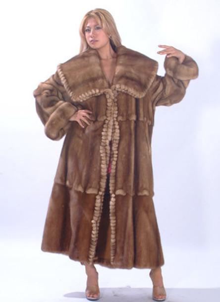 Reversible Mink Full Pelt Fur Coat