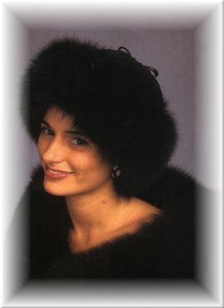 Sheared Leather Fox Cuff Fur Hat