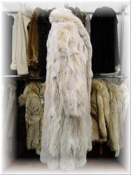 Snowtop Fox Fur Coat