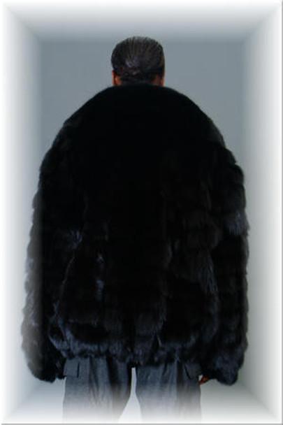 Fox Fur Bomber Jacket 6