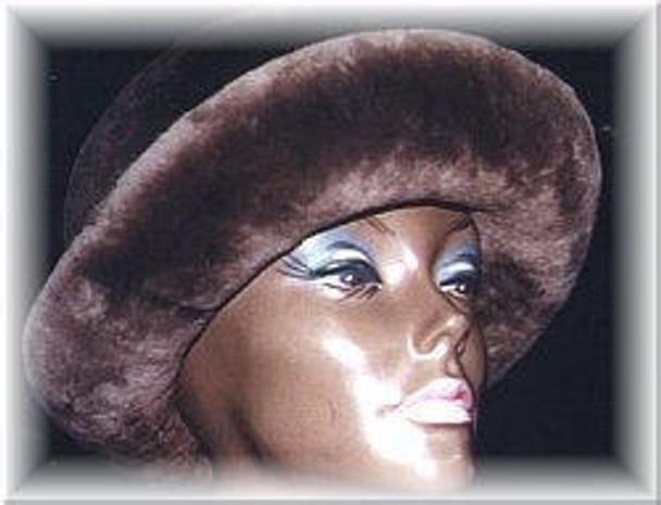 Natural Beaver Fur Hat