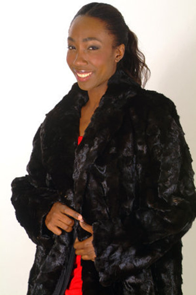 Design Mink Long Coat