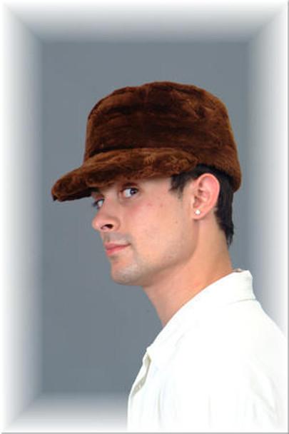 Sheared Beaver Fur Cap 1