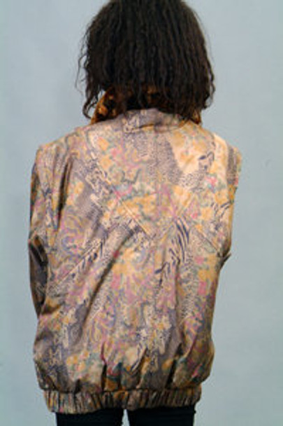Multicolor Beaver Fur Jacket