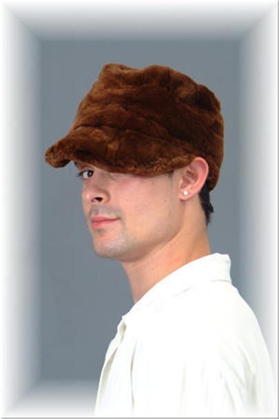 Sheared Mink Fur Cap 4