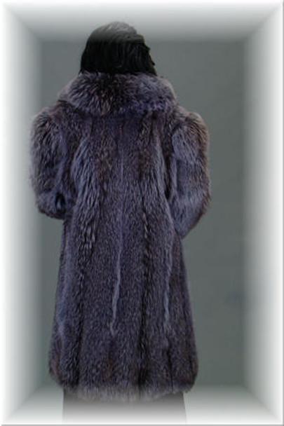 Designed 3/4 Coyotte Fur Stroller