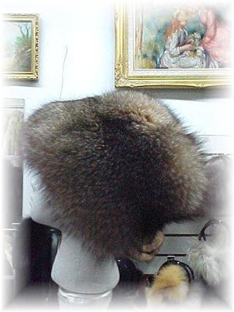 Full Skin Crystal Fox Fur Hat 1