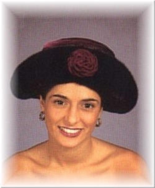 Velvet Crown Mink Fur Hat