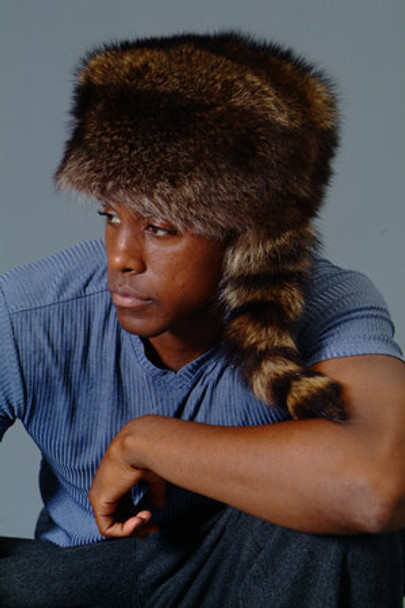 Raccoon Boone Fur Hat