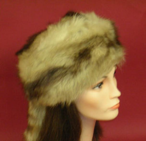 Daniel Boone Racoon Fur Hat