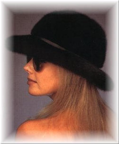 Mink Fedora Fur Hat 1