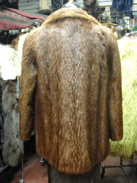 Vintage Nutria Full Skin Jacket
