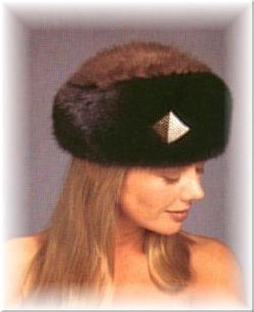 Mink Beret Fur Hat