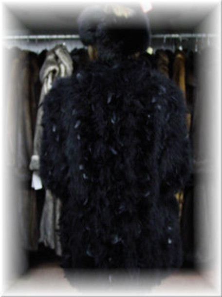 Beautiful Ostridge Feather Jacket