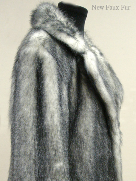 Faux Fox Fur Jacket