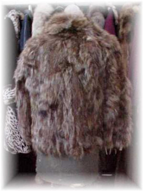 Sectional Raccoon Fur Jacket 1
