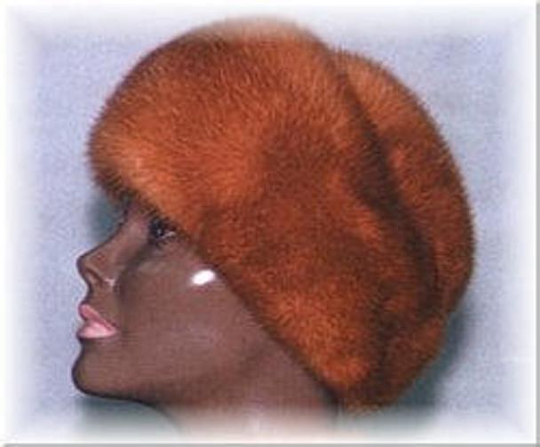 Mink Cuff Fur Hat