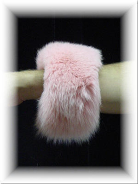 Full Skin Fox Fur Cuffs 3