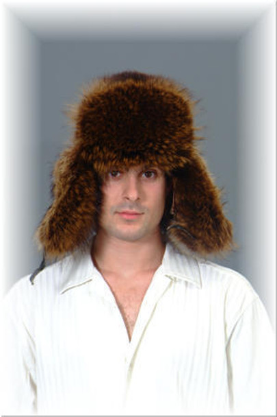Raccoon Fur Trooper Hat 1