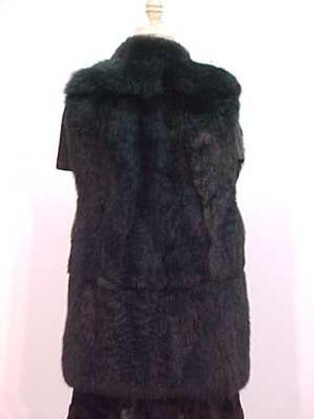 Full Skin Opossum Fur Vest