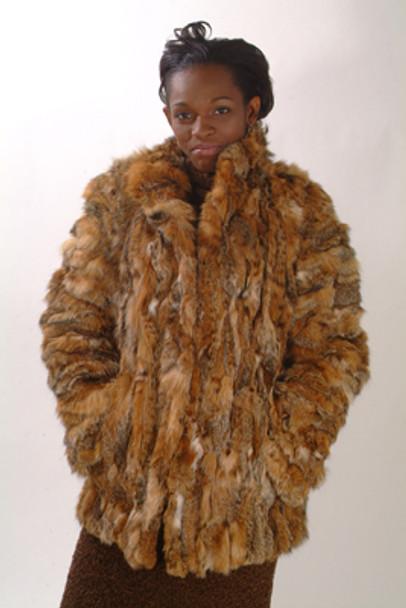 Sectional Lynx Fur Jacket