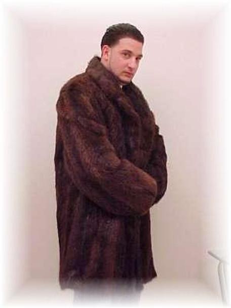 Full Skin Nutria Fur Jacket