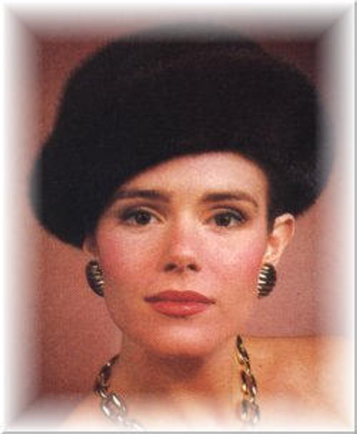 Mink Rolled Cuff  Fur Hat