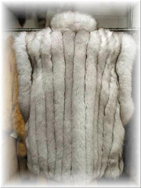 Full Skin Fox Fur Vest