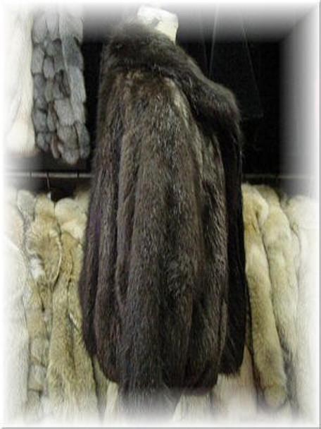 Full Skin Beaver Bomber Fur Jacket