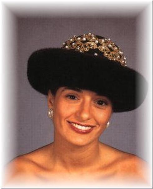 Roller Felt Crown Hat